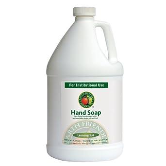 Earth Friendly Products Proline PL9664/04 Lemongrass Hand Soap, 1 gallon Bottles (Case of 4)
