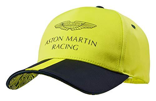 - Aston Martin Racing Men's Team Cap Hat, Lime Green