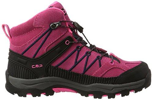 pink Fluo Adulte Randonnée Rigel Hautes Wp asphalt De Chaussures Mixte Cmp Rose Campagnolo Mid 7BqPPz