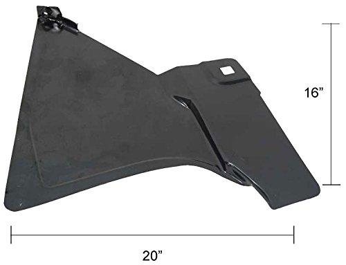 Footwell (Kick Panel) - RH - 73-87 Chevy GMC Truck; 73-91 Blazer Jimmy Suburban