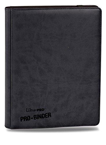 (Premium PRO-Binder 9-Pocket Cards, Black)