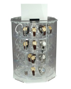 40 Watch Revolving Display Case by Jewelers Supermarket