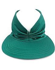 Sombreros de sol para mujer, de verano, plegable, plegable, con protección solar, transpirable, sombrero de playa, UPF 50, para exteriores