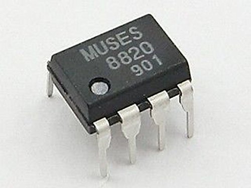 Rate Amp Op Slew (JRC MUSES8820 High Quality Sound Bipolar-input Dual OP-Amp)