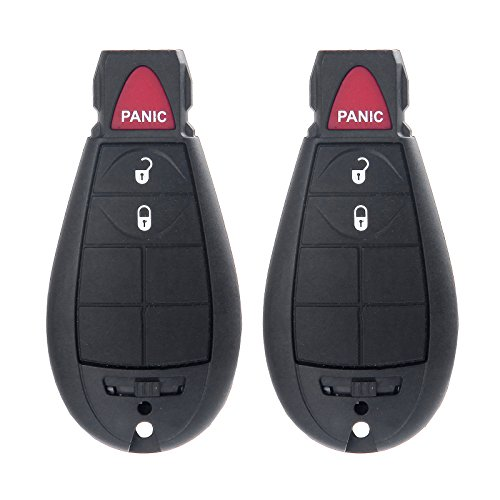 Dodge Ram Dealer Parts - Keyless Entry Kit,ECCPP Remote Key Fob Keyless Entry Remote 3btn Replacement Fit for 08-10 Chrysler 300 Town & Country Dodge Challenger Charger Durango Grand Caravan|Dodge Ram 1500 2500 3500 4500
