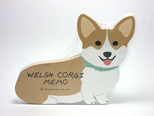 Welsh Corgi Dog Die-cut Memo Pad 4.75