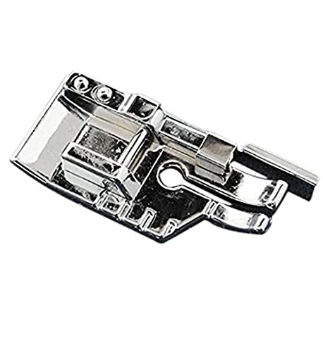 TFBOY 1-4 (Quarter Inch) Quilting Sewing Machine Presser Foot with Edge Guide - Fits All Low Shank Snap-On Singer*, Brother, Babylock, Euro-Pro, Janome, Kenmore, White, Juki, New Home, - Euro Pro Sewing