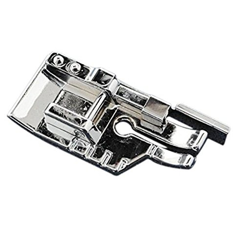 TFBOY 1-4 (Quarter Inch) Quilting Sewing Machine Presser Foot with Edge Guide - Fits All Low Shank Snap-On Singer*, Brother, Babylock, Euro-Pro, Janome, Kenmore, White, Juki, New Home, Simplicity
