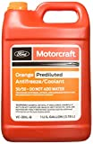 Genuine Ford Fluid VC-3DIL-B Orange Pre-Diluted Antifreeze/Coolant - 1 Gallon