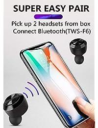Audífonos inalámbricos con Bluetooth de larga duración 5.0, inalámbricos, deportivos, impermeables, estéreo, intraurales, micrófono integrado, sonido premium con graves profundos para deporte
