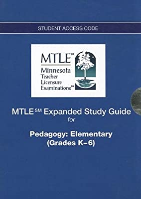 MTLE Expanded Study Guide -- Access Card -- for Pedagogy: Elementary (Grades K-6)