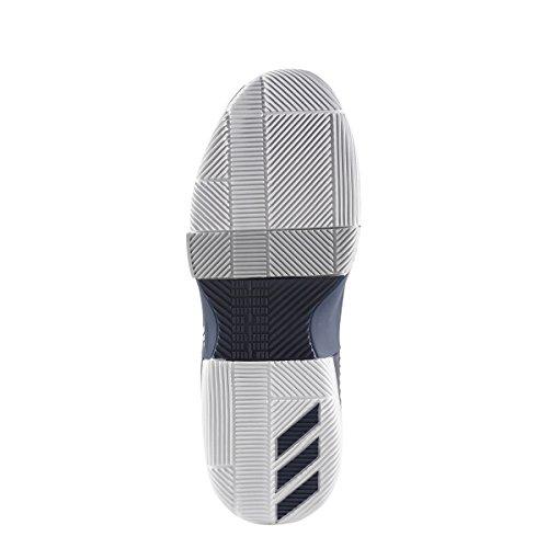 adidas Dame 3 Schuh Männer Basketball Collegiate Marine-weiß