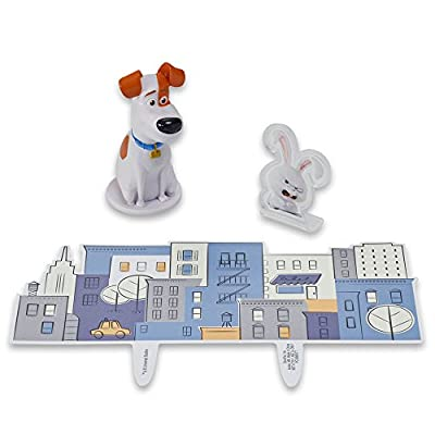 DecoPac The Secret Life of Pets Max & Snowball DecoSet Cake Topper: Toys & Games