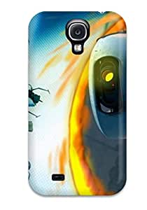Slim Fit Tpu Protector Shock Absorbent Bumper Attractive Portal Case For Galaxy S4