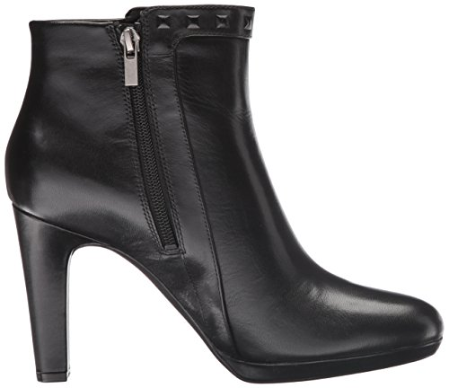 Rockport Womens Seven to 7 Ally Stud Bootie Boot Black Leather