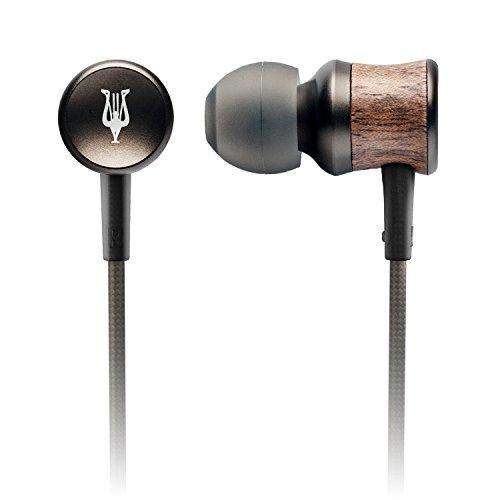 Meze 12 Classics GunMetal premium high fidelity wooden earphones IEM's (Gun Metal Grey) ()
