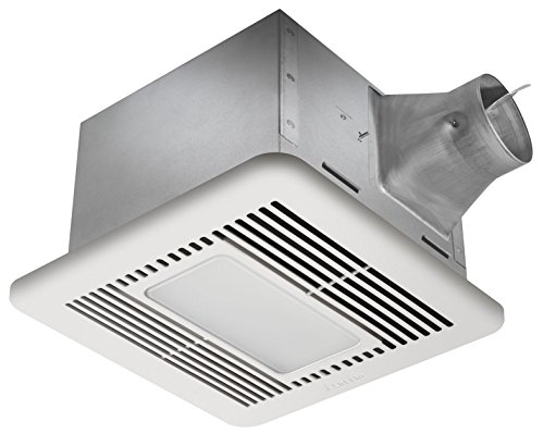 quiet bathroom fan with light - 9