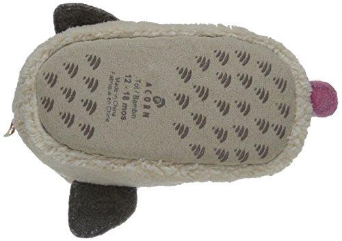 Pictures of Acorn Easy Critter Kids Bootie Slipper Ladybug varies 7