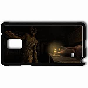 Personalized Samsung Note 4 Cell phone Case/Cover Skin Amnesia Black