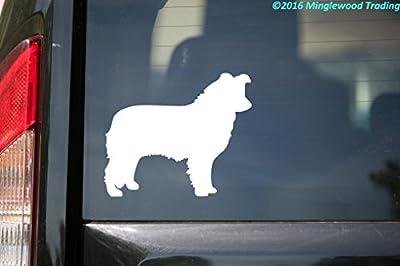 """Border Collie vinyl decal sticker 5"""" x 4"""" Herding Dog"""