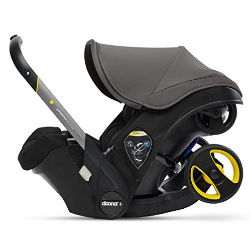 Doona Infant Car Seat & Latch Base – Greyhound – US Version