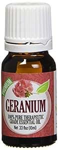 Geranium - 100% Pure, Best Therapeutic Grade Essential Oil - 10ml