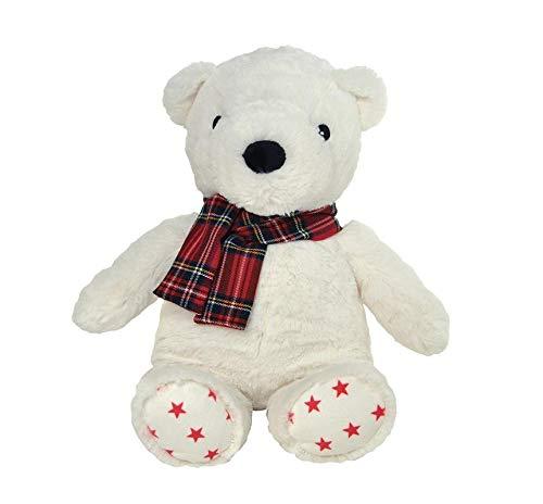 Cloud b Holiday Plush Polar Bear - Master Pack Qty 8 (Cloud Bear B)