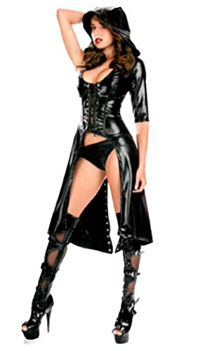 Fuji Sexy Lingerie Anime Witch Dress Costumes (Sexy Witch Dress)