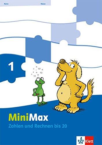 MiniMax / Arbeitsheft Zahlen und Rechnen; 2teilig 1. Schuljahr