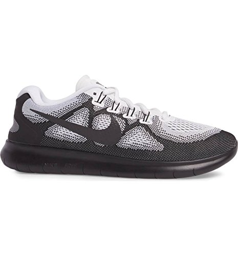 Nike Heren Gratis Rn 2017 Loopschoenen Zwart / Zwart-wit