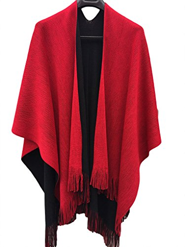 Women front poncho Cardigans Sweater