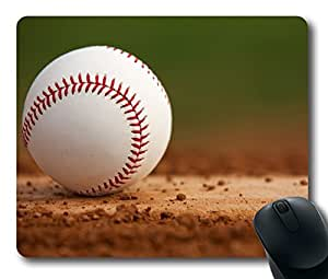 Baseball At The Training Ground,Rectangle mouse pad Your Perfect Choice