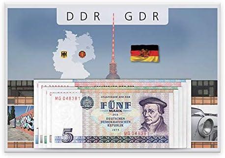 IMPACTO COLECCIONABLES Colección Billetes - Set Completo de Billetes de la GDR (República Democrática Alemana): Amazon.es: Juguetes y juegos
