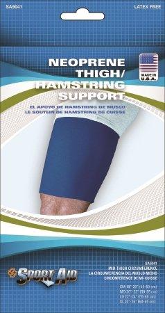 Scott Specialties Sport-Aid Thigh Support - SA9041 BLU MDEA - Medium, 1 Each / Each
