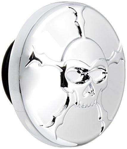 Kuryakyn 7358 Zombie Gas Cap (Rh Thread Vented) (Deluxe Skull Cap)