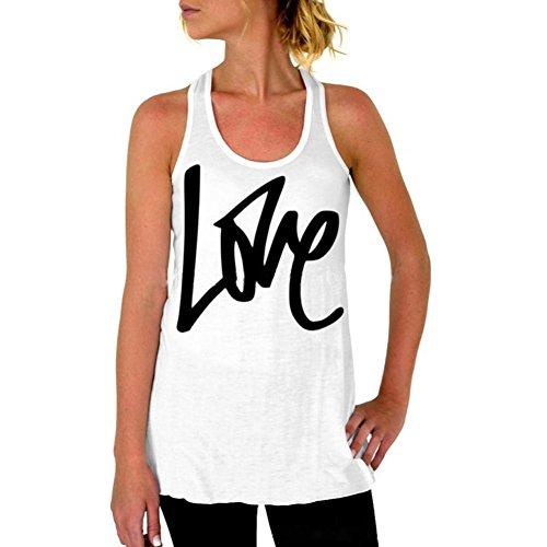 - NEARTIME Women's Vest, Love Printed Sleeveless Vest T-Shirt Tops (L)