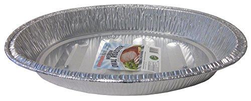 dium Oval Aluminum Roasting Pan , 16 -1/2