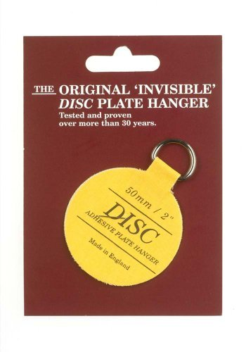 Disc 50mm Adhesive Plate Hanger by Disc
