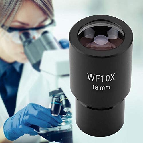 Pangding Microscope Lens GWF004 WF10X//23 Microscope Wide Angle Eyepiece Ocular Eyepoint Lens Adjustable Wide Field 30mm