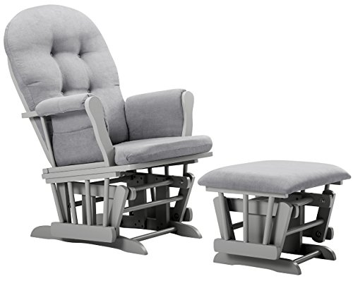 Review Of Angel Line Windsor Glider and Ottoman Cushion, Grey