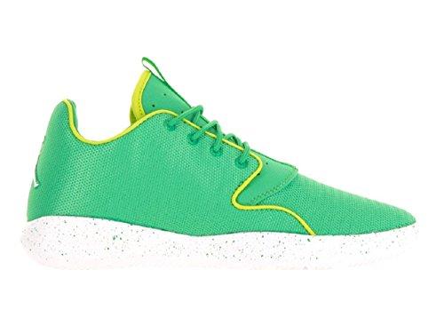 Jordan Nike Kids Eclipse GG Gamma Green/White/Cyber/White Running Shoe 6.5 Kids US