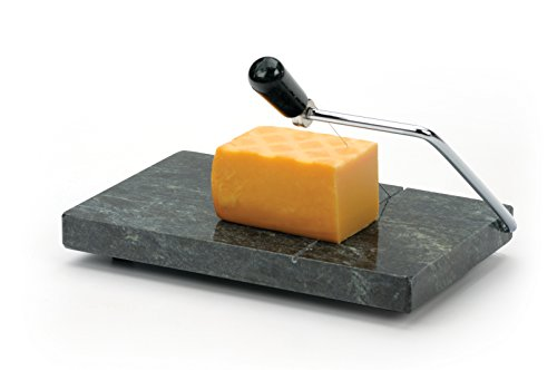 (RSVP Polished Green Marble Board Cheese Slicer)