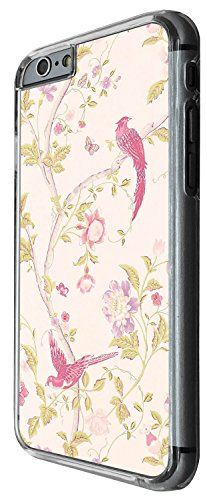 1241 - Cool Fun Trendy cute chinese japanese shabby chic wallpaper Design iphone 6 Plus / iphone 6 Plus S 5.5'' Coque Fashion Trend Case Coque Protection Cover plastique et métal - Clear