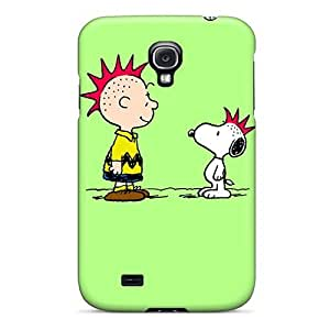 Galaxy High Quality Tpu Case/ Charlie Brown OzQYBQN7625iLFwH Case Cover For Galaxy S4