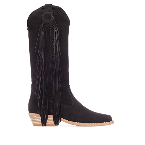 Size 3 Suede Black Machado Boots to 5 5 High in Suede EU Andres 7 to in Made Ladies 161 36 Range Black UK 41 Spain PqgWw084