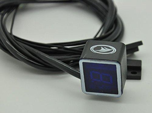 Yosoo moto universale digitale leva del cambio indicatore luce sensore –  blu chi
