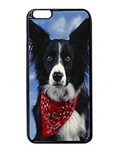 "Border Collie Pattern Image Protective iphone 5 5s ("") Case Cover Hard Plastic Case For iphone 5 5s - Inches"