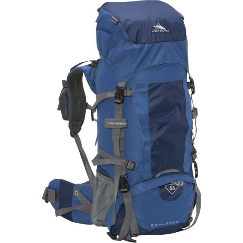 High Sierra Classic Series 59301 Explorer 55 Internal Frame Pack Pacific 30x14x8 Inches 3356 Cubic Inches 55 Liters, Outdoor Stuffs