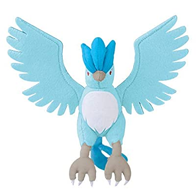 Pokemon Legendary Articuno Character Big Animal Plush Toy Soft Stuffed Doll: Toys & Games