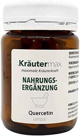 Kräutermax Quercetin 250 mg Kapseln 1 x 90 Stück Vegan Glutenfrei